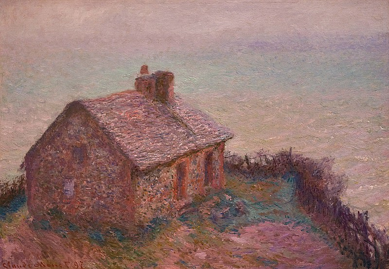 Customs House at Varengaville. Claude Oscar Monet