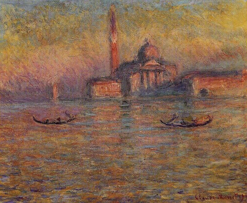 San Giorgio Maggiore 2. Клод Оскар Моне