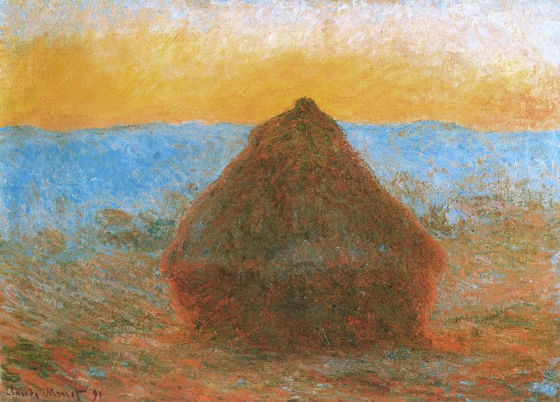 Grainstack. Claude Oscar Monet