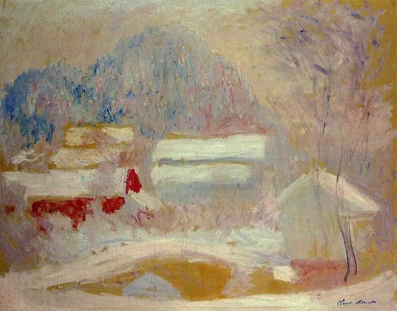 Norwegian Landscape, Sandviken. Claude Oscar Monet