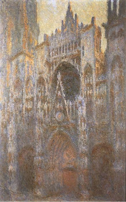 Rouen Cathedral 02. Claude Oscar Monet