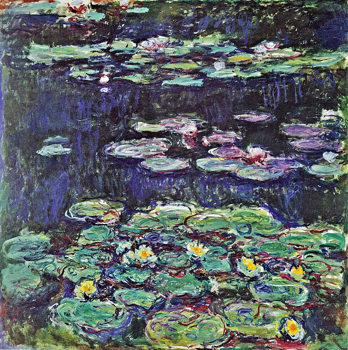 Water Lilies, 1914 01. Claude Oscar Monet