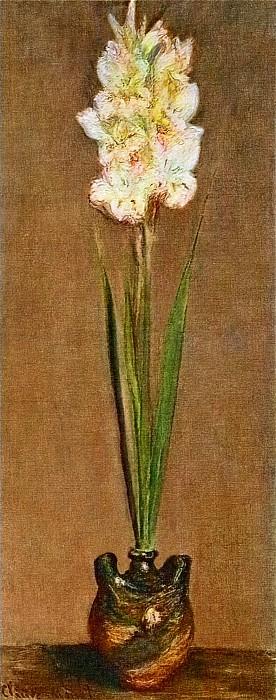 Gladiolus, 1881 02. Claude Oscar Monet