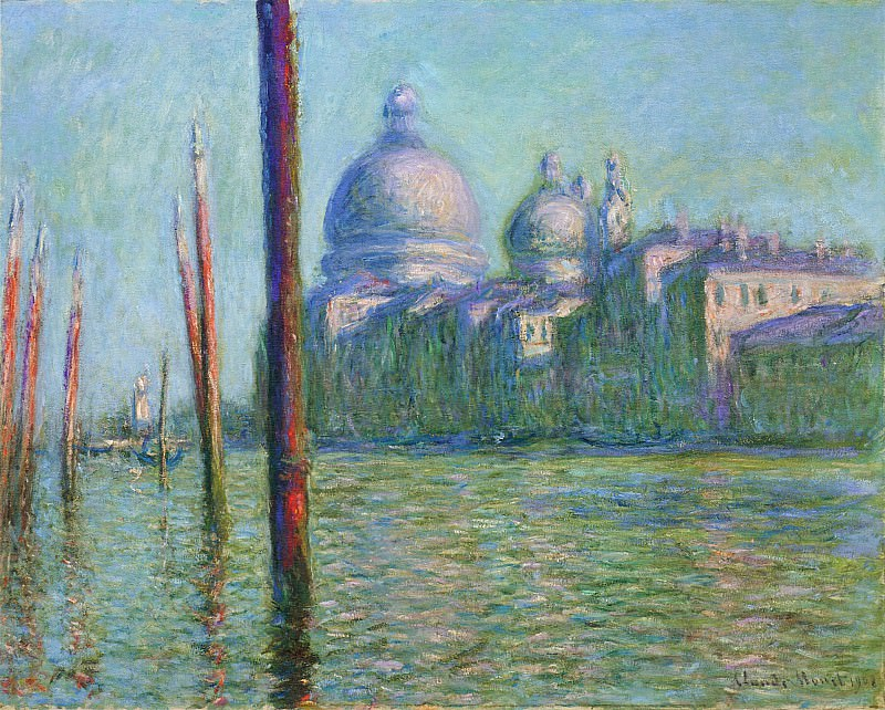 The Grand Canal 03. Клод Оскар Моне