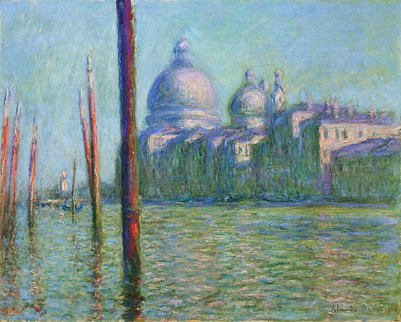 The Grand Canal 03. Claude Oscar Monet