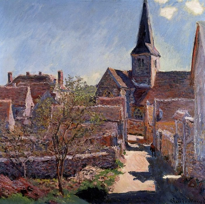 Bennecourt. Claude Oscar Monet