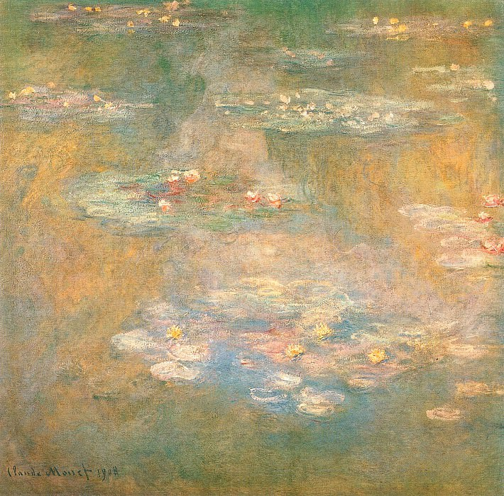 Water Lilies, 1908 04. Claude Oscar Monet