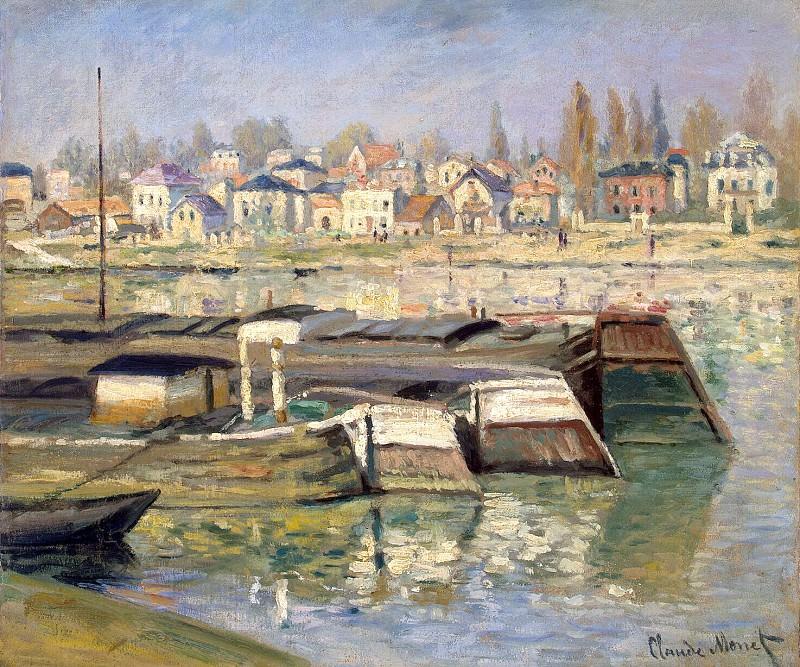 The Seine at Asnieres 02. Claude Oscar Monet