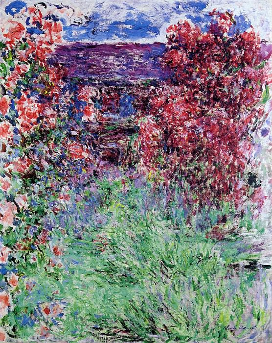 The House among the Roses. Claude Oscar Monet