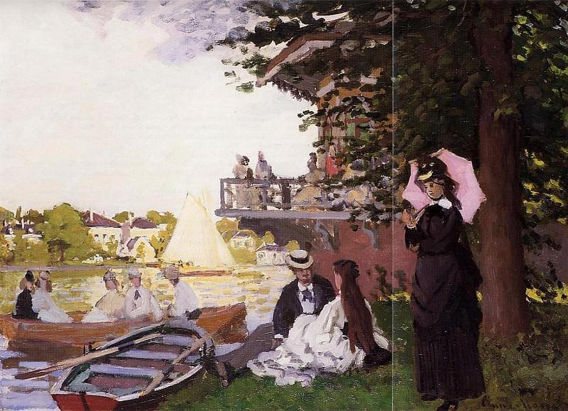 The Landing State. Claude Oscar Monet