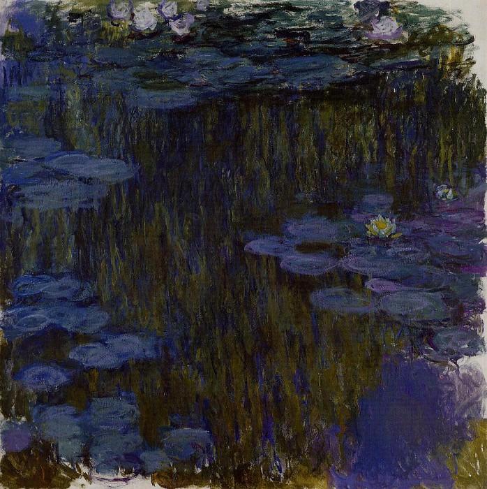 Water Lilies, 1914-17 09. Клод Оскар Моне