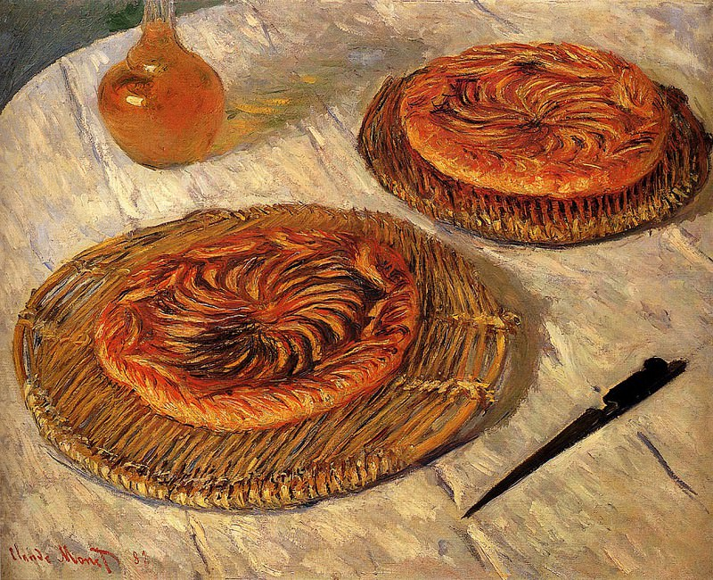 The Galettes. Claude Oscar Monet