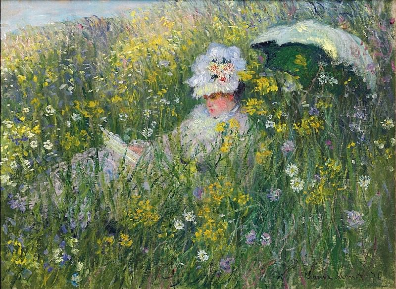 In the Meadow. Claude Oscar Monet