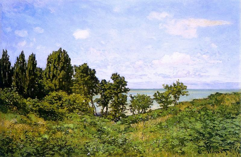 By the Sea. Claude Oscar Monet