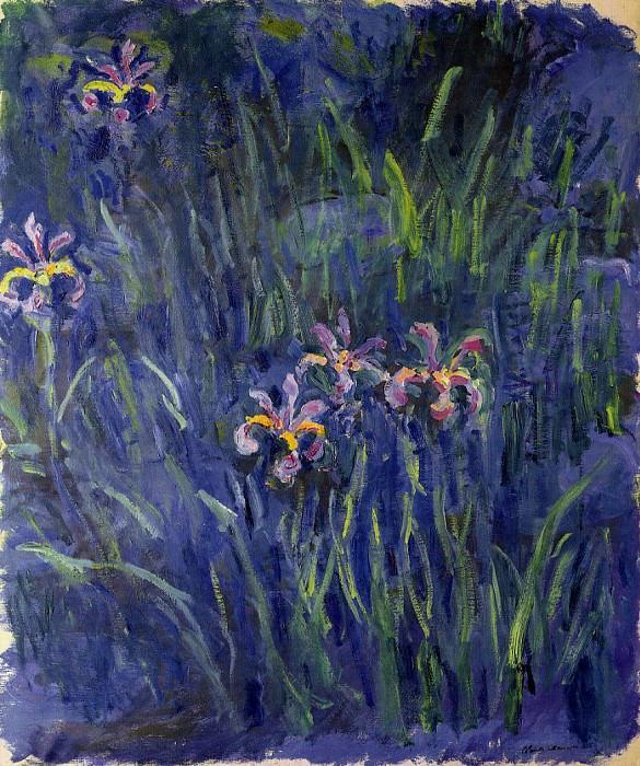 Irises 2. Claude Oscar Monet