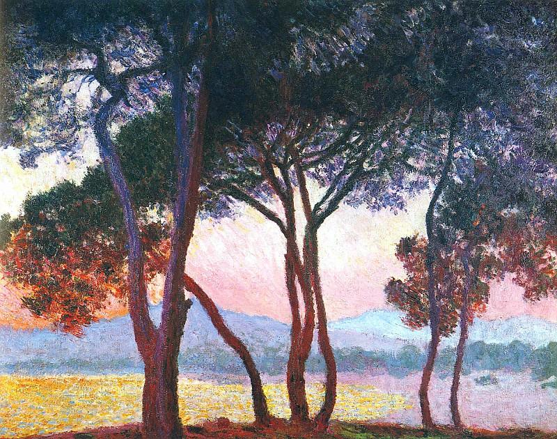 Juan-les-Pins. Claude Oscar Monet