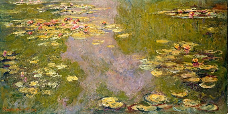 Water Lilies, 1919 05. Claude Oscar Monet