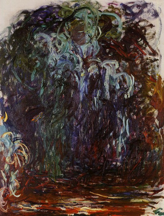 Weeping Willow. Claude Oscar Monet