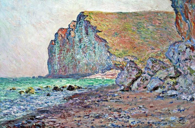 Cliffs of Les Petites-Dalles. Claude Oscar Monet