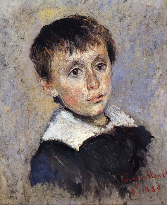 Portrait of Jean Monet. Claude Oscar Monet
