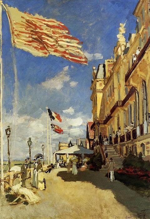Hotel des Roches Noires, Trouville. Claude Oscar Monet