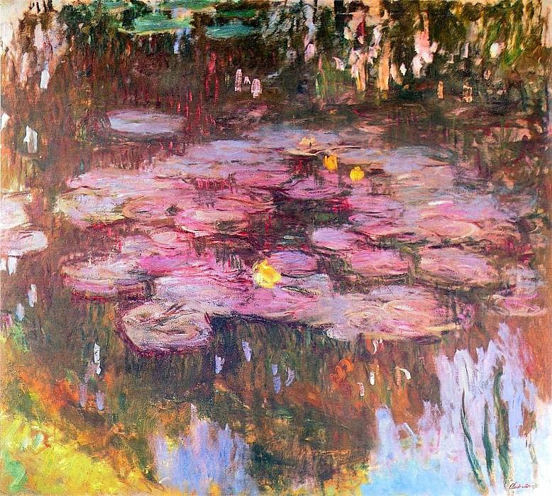 Water Lilies, 1914-17 01. Claude Oscar Monet