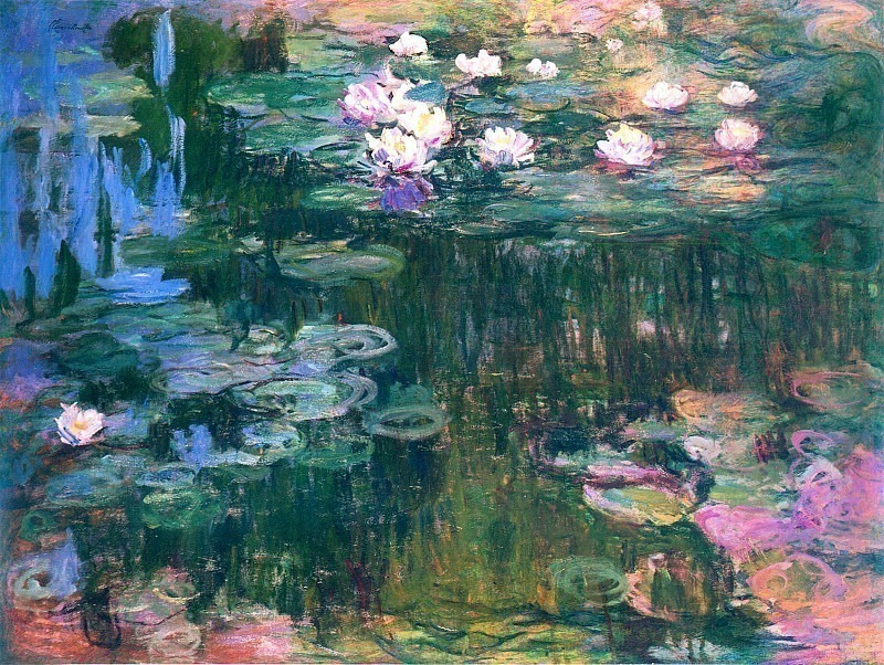 Water Lilies, 1914-17 05. Клод Оскар Моне