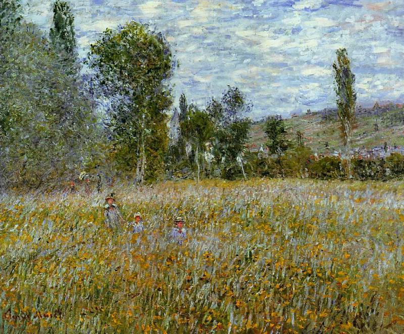 Meadow. Claude Oscar Monet