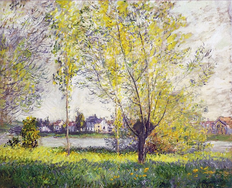 The Willows. Клод Оскар Моне
