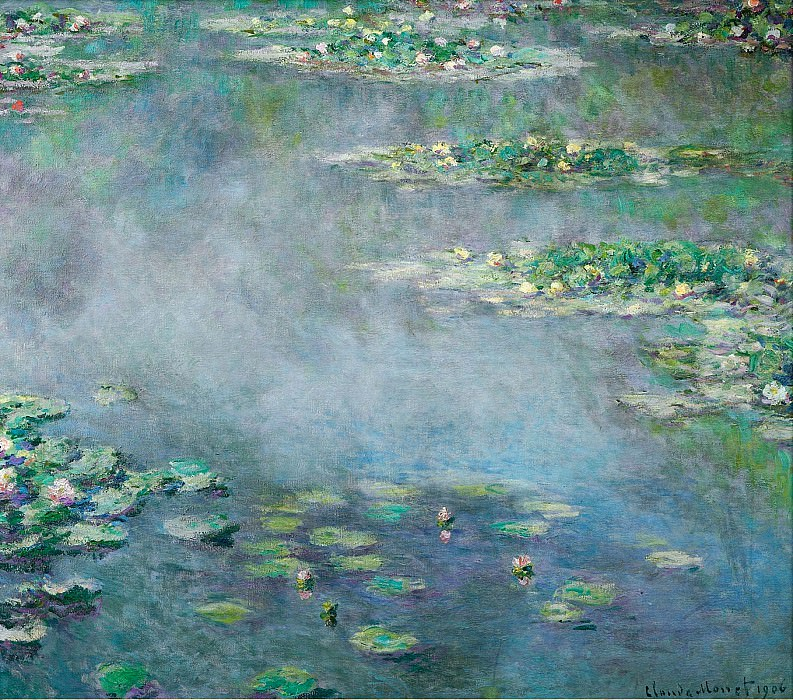 Water Lilies, 1906 02. Claude Oscar Monet
