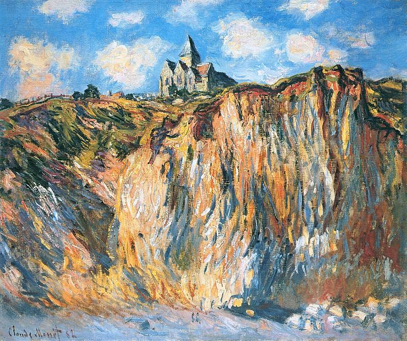 The Church at Varengeville, Morning Effect. Claude Oscar Monet