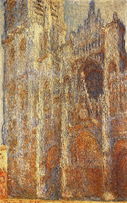 Rouen Cathedral at Noon. Claude Oscar Monet