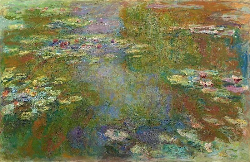Water Lilies, 1919 01. Claude Oscar Monet
