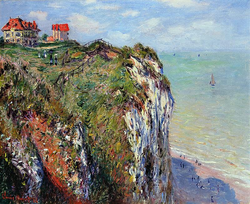 Cliff at Dieppe. Claude Oscar Monet