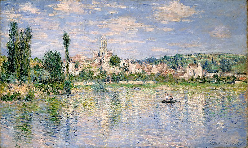 Vetheuil in Summer. Claude Oscar Monet