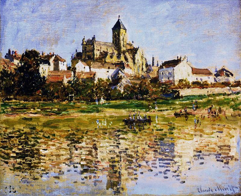 Vetheuil, The Church. Claude Oscar Monet