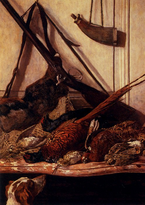 Trophies of the Hunt. Claude Oscar Monet