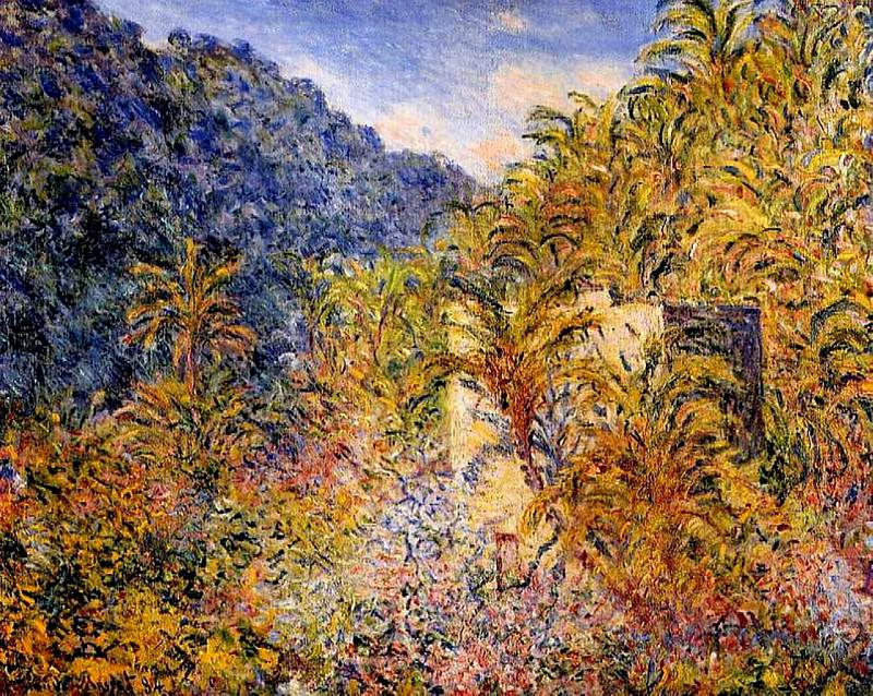 The Valley of Sasso. Claude Oscar Monet
