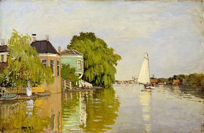 Zaandam. Claude Oscar Monet