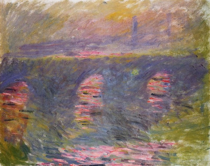 Waterloo Bridge. Claude Oscar Monet