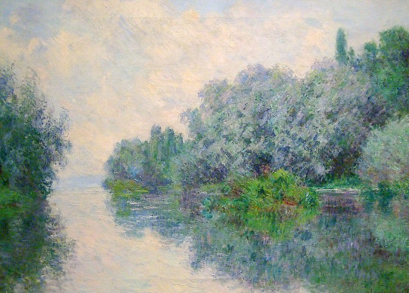 The Seine near Giverny 02. Клод Оскар Моне
