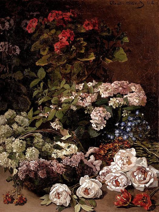 Spring Flowers. Claude Oscar Monet