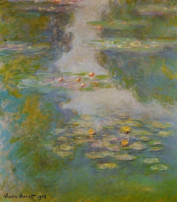 Water Lilies, 1908 02. Claude Oscar Monet