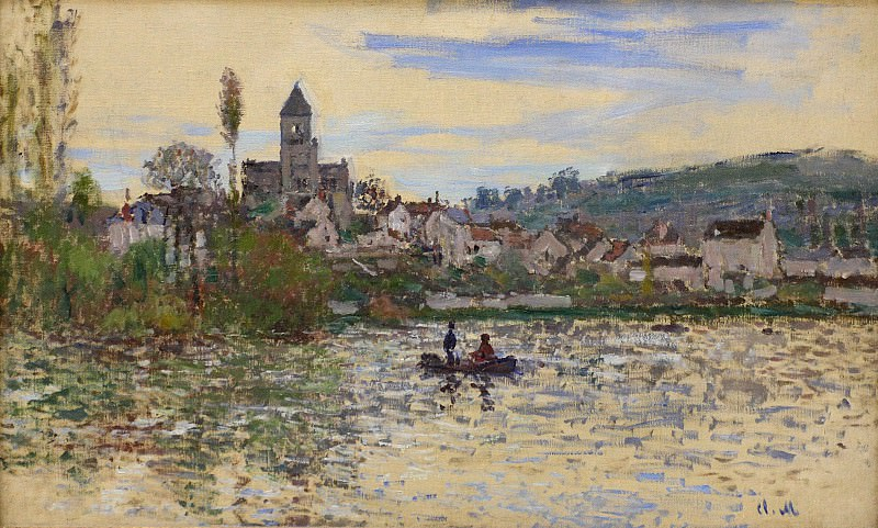 The Seine at Vetheuil 3. Claude Oscar Monet