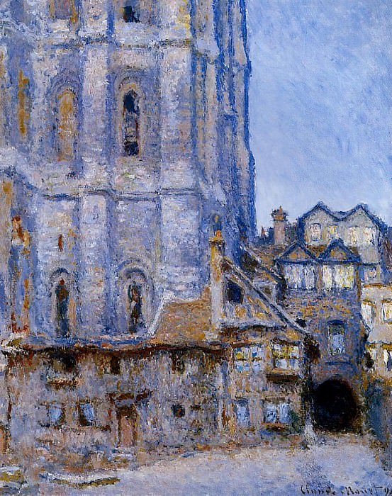 The Cour d'Albane. Claude Oscar Monet