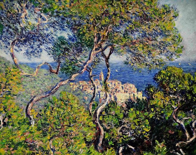 Bordighera. Claude Oscar Monet