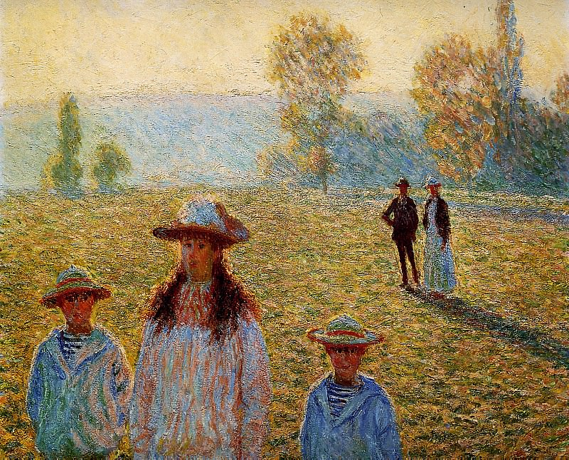 Landscape at Giverny. Клод Оскар Моне