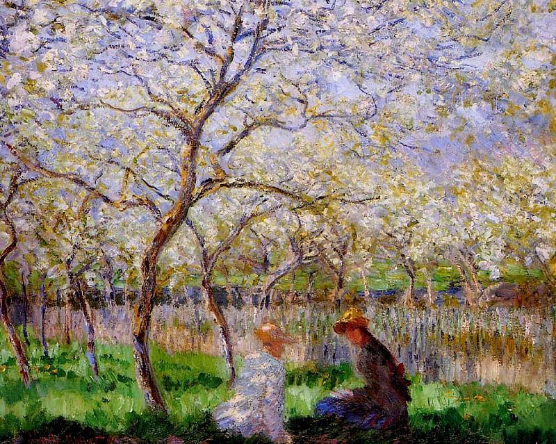 Springtime. Claude Oscar Monet