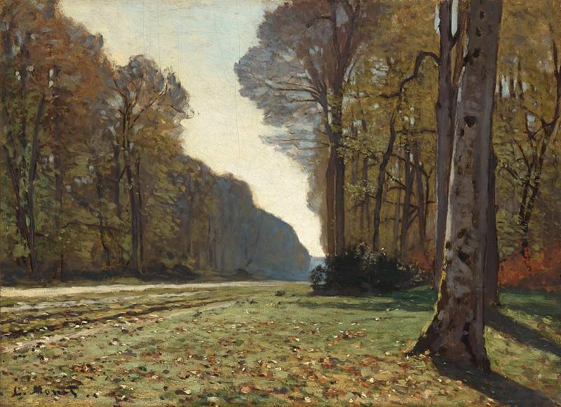 The Pave de Chailly. Claude Oscar Monet