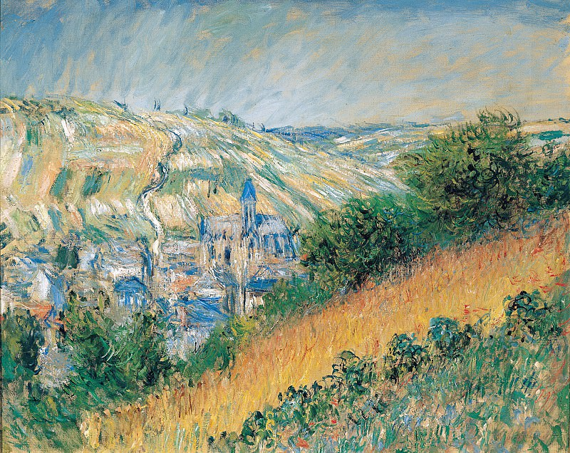 View over Vetheuil. Claude Oscar Monet